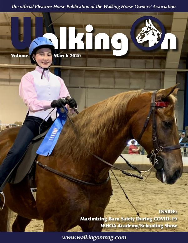 Walking On Volume 7, Issue 3, March 2020