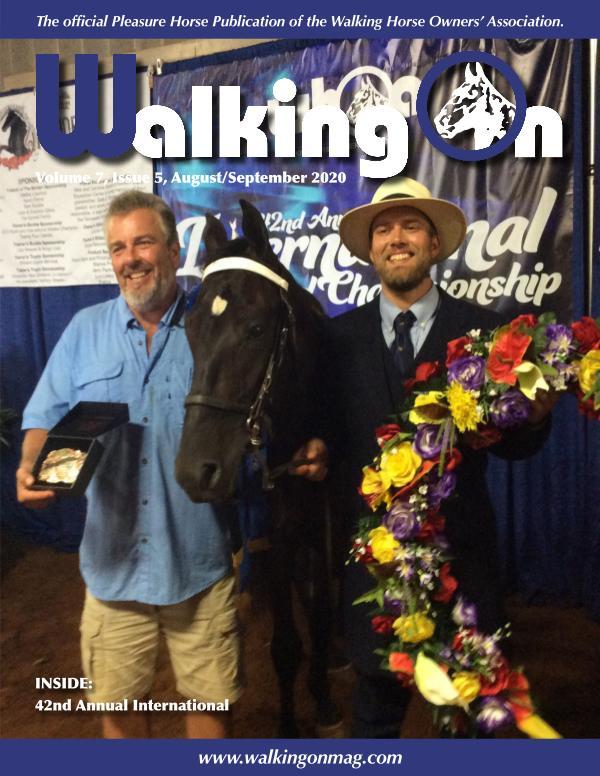 Walking On Volume 7, Issue 5, Aug./Sept. 2020