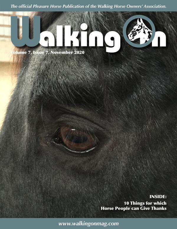 Walking On Volume 7, Issue 7, November 2020