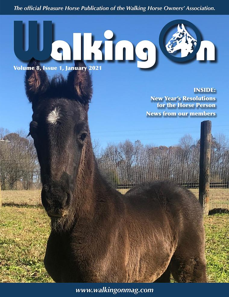 Walking On, Volume 8, Issue 1, January 2021