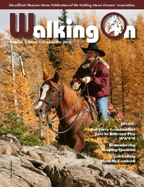 Walking On Volume 1, Issue 3, September, 2014