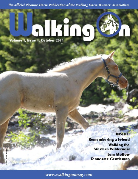 Walking On Volume 1, Issue 4, October, 2014