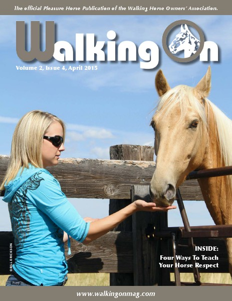 Walking On Volume 2, Issue 4, April 2015