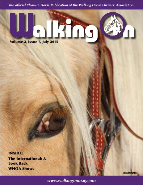 Walking On Volume 2, Issue 7, July 2015