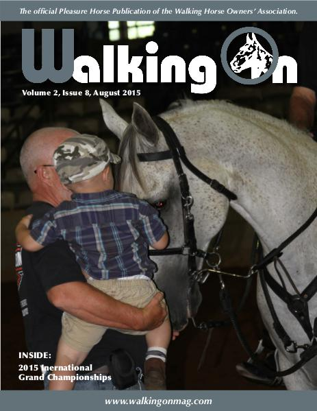 Walking On Volume 2, Issue 8, August 2015