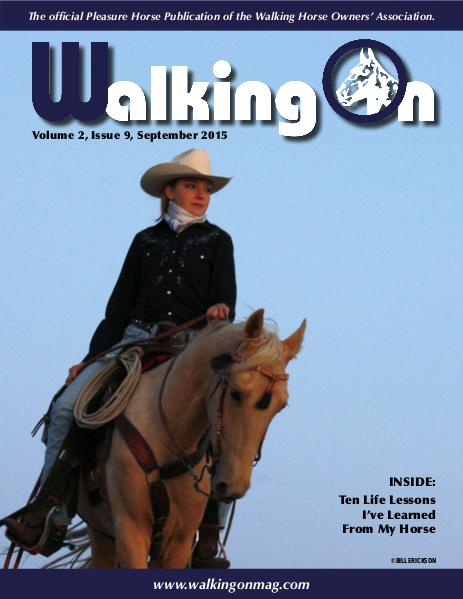 Walking On Volume 2, Issue 9, September 2015