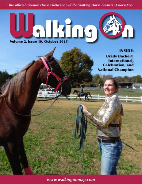 Walking On Volume 2, Issue 10, October 2015