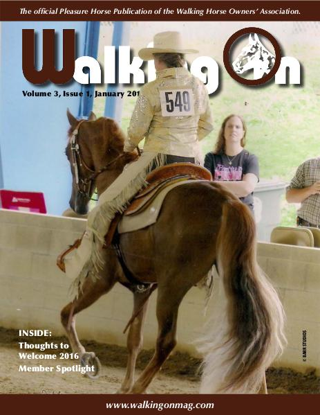 Walking On Volume 3, Issue 1, January 2016