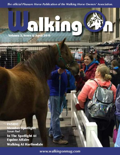 Walking On Volume 3, Issue 4, April 2016