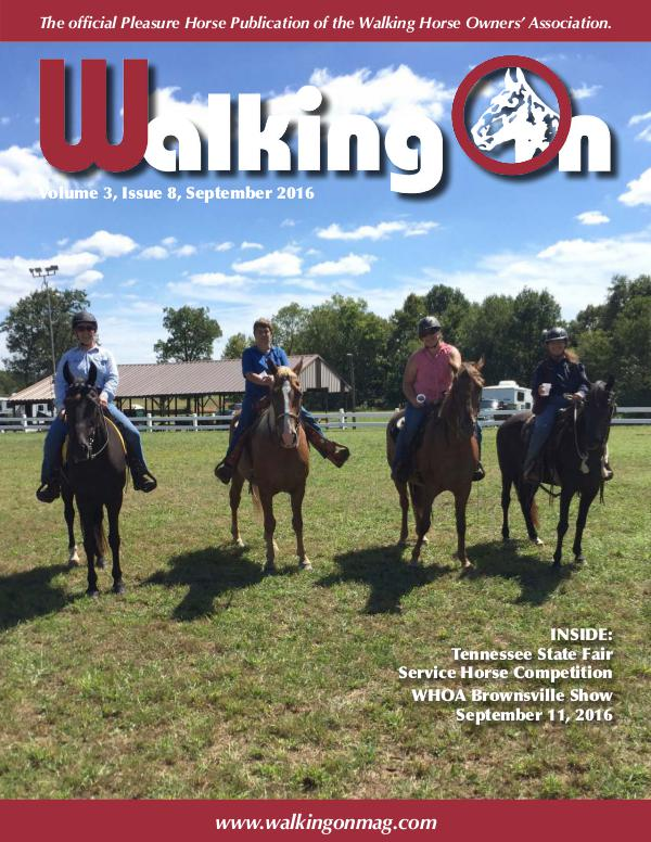 Walking On Volume 3, Issue 8, September 2016