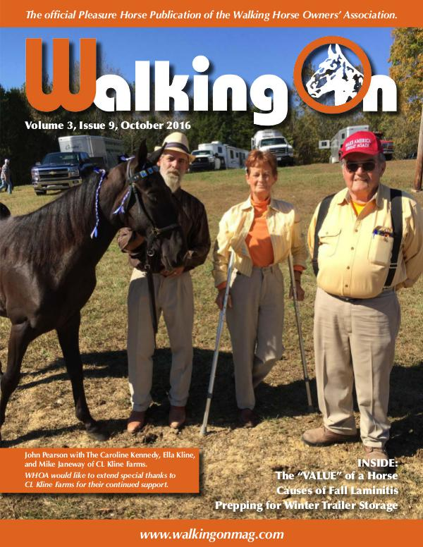 Walking On Volume 3, Issue 9, October 2016