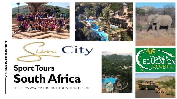 Sports Tours Sun City South Africa SPORTS TOUR 12PG