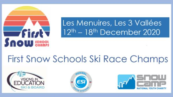 Visions First Snow Schools Ski Race Champs December 2020
