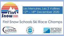 Visions First Snow Schools Ski Race Champs