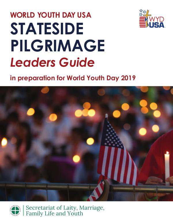 World Youth Day 2019 USA Leader Guides Stateside Leader Guide