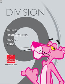 Finishes Manufacturer's Product Guide