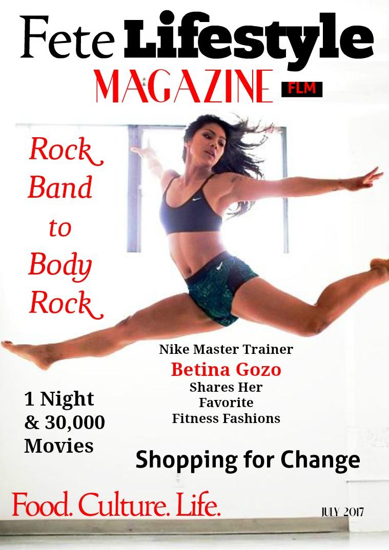 Fete Lifestyle Magazine July 2017 Shopping Issue