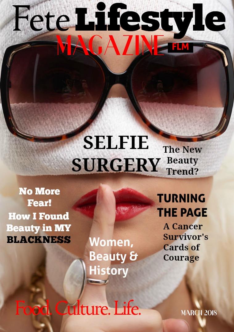 Fete Lifestyle Magazine March 2018 - Women & Beauty