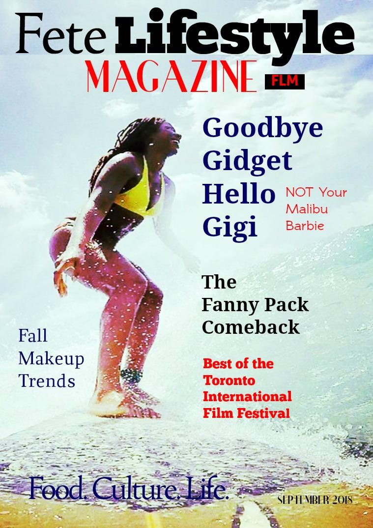 Fete Lifestyle Magazine September 2018 - Fall, Fashion & Trends