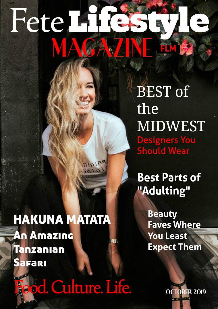Fete Lifestyle Magazine October 2019 - Best of and Favorite Things Issue