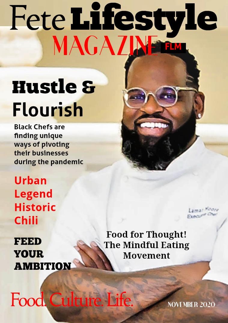 Fete Lifestyle Magazine November 2020 - Food Issue