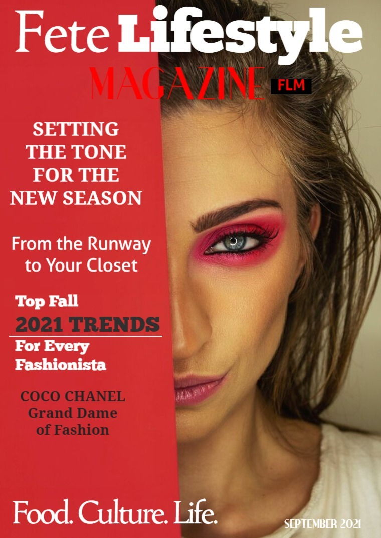 September 2021 - Fall Fashion Trends