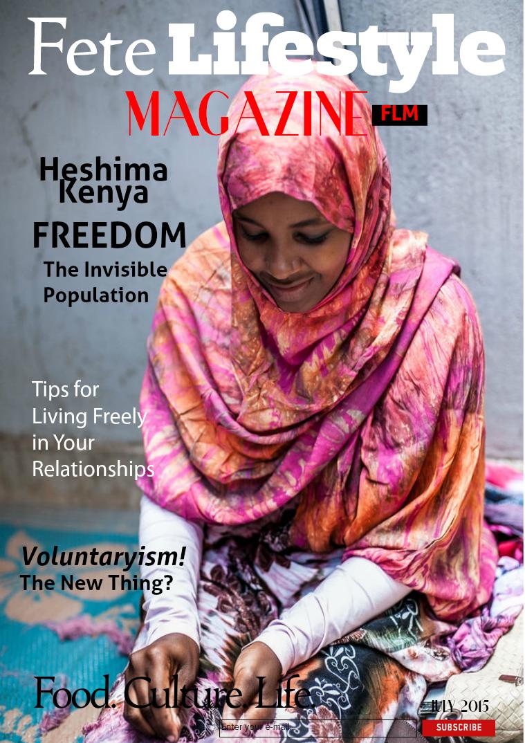 Fete Lifestyle Magazine July 2015