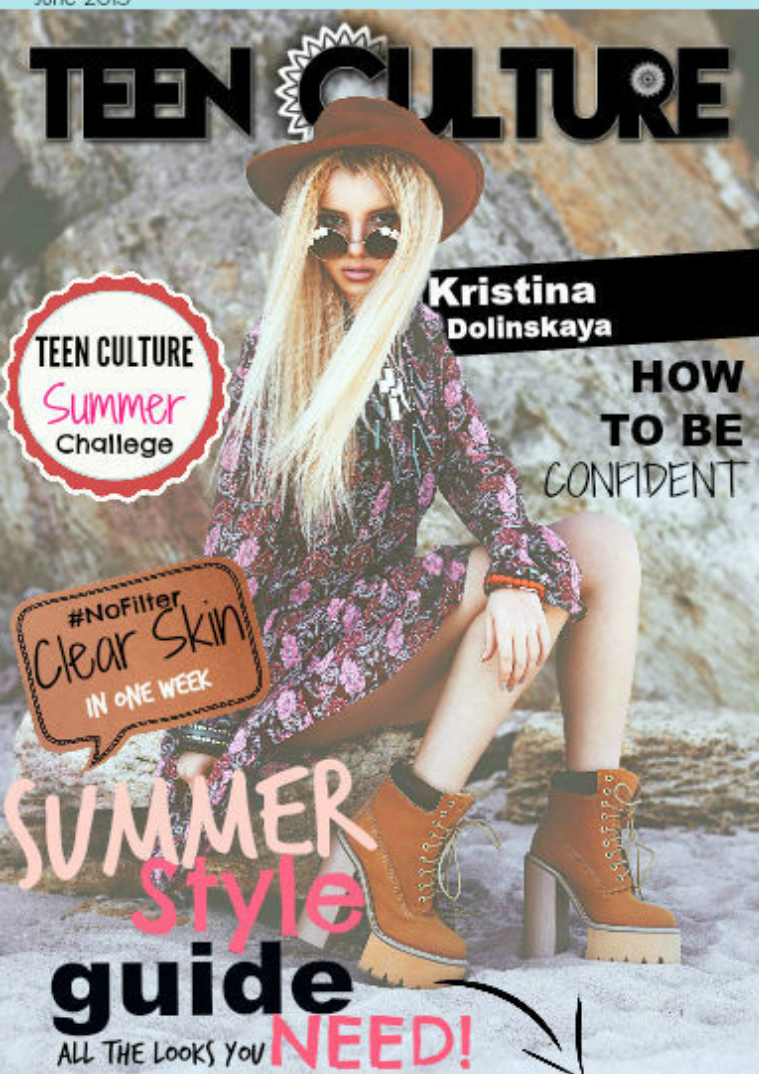 Teen Culture Lost In Summer July.2015