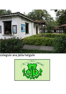 colegio Ana Julia Holguin de Hurtado