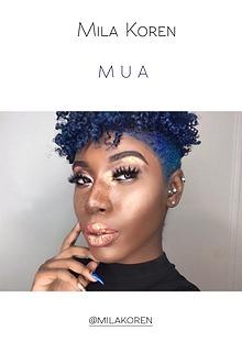 Mila Koren - MUA. Fashion & Beauty Book
