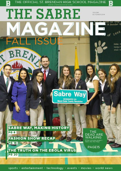 The Sabre Magazine Fall Issue Volume 1