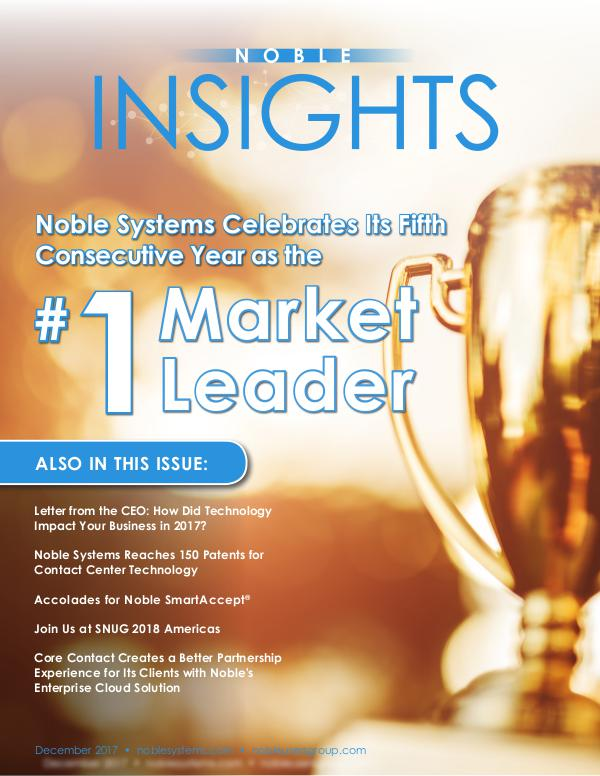 Noble Insights Dec 2017