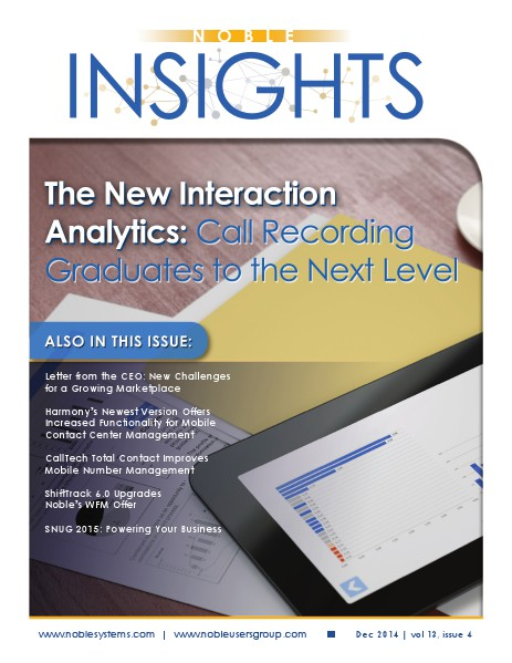 Noble Insights December 2014