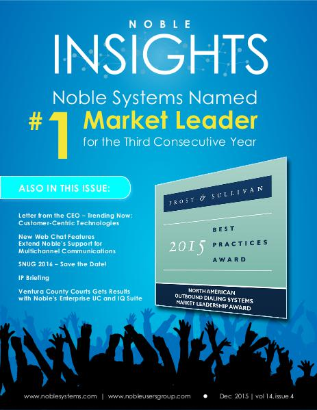 Noble Insights December 2015