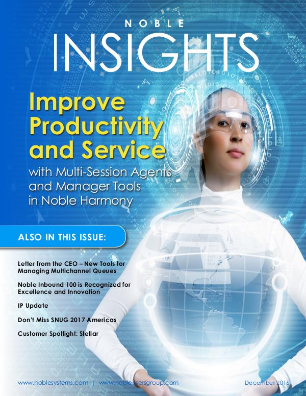 Noble Insights December 2016