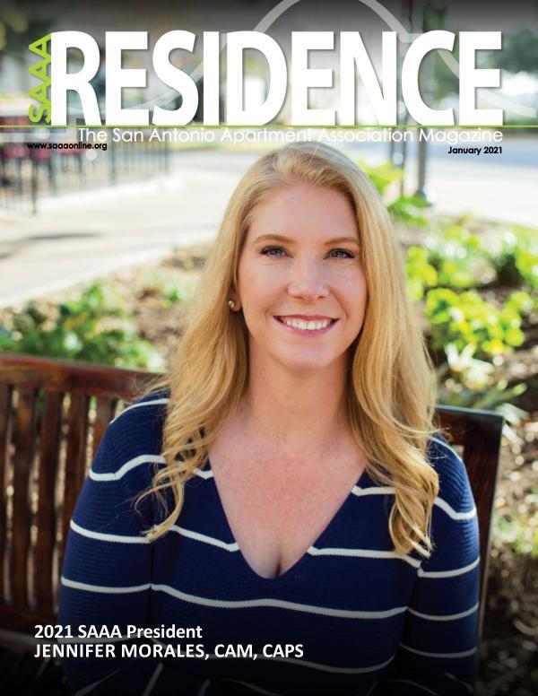 SAAA Residence Magazine January 2021