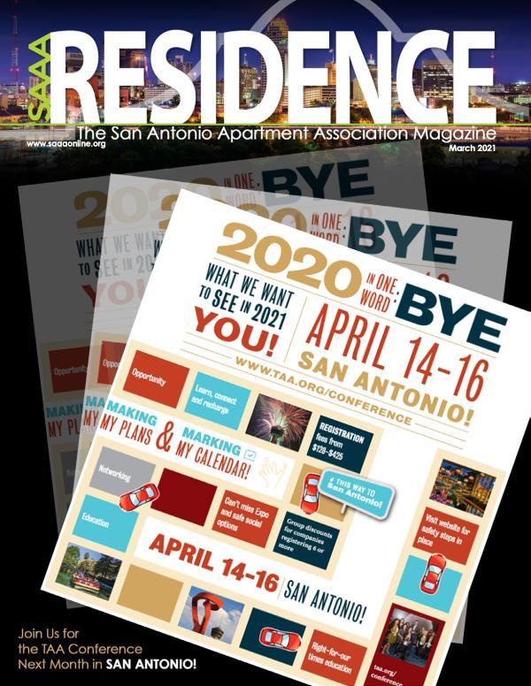 SAAA Residence Magazine March, 2021