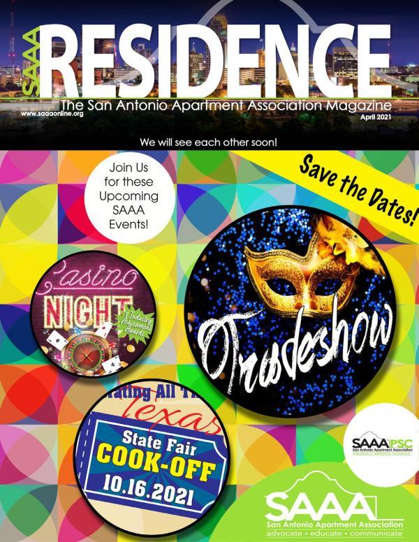 SAAA Residence Magazine April 2021