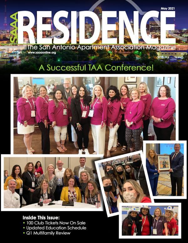 SAAA Residence Magazine May 2021