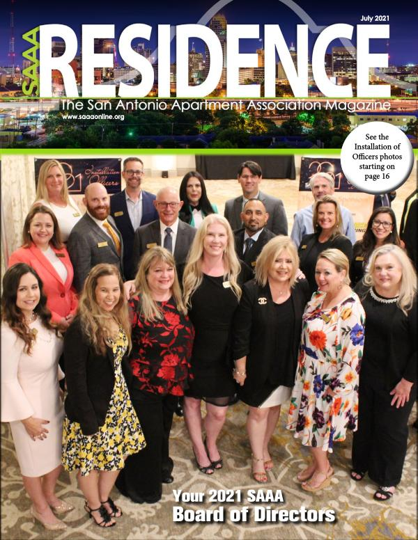 SAAA Residence Magazine July 2021