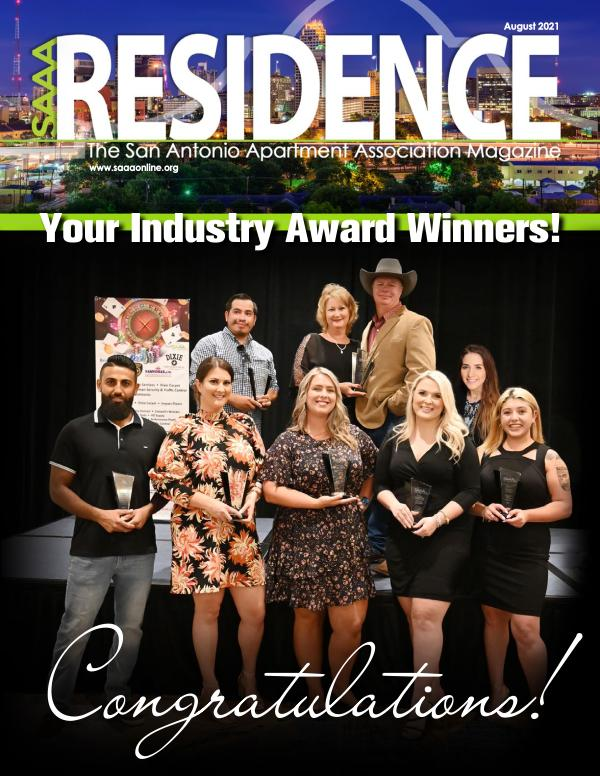 SAAA Residence Magazine August 2021