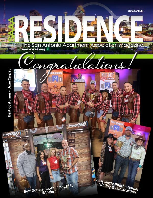 SAAA October 2021 Residence Magazine
