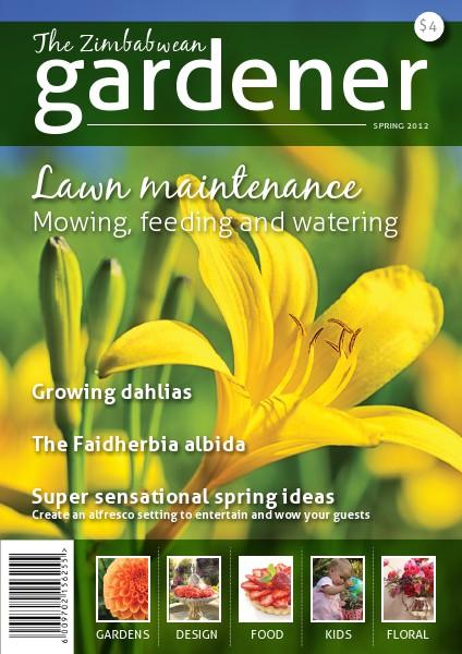The Zimbabwean Gardener Issue 2 Spring 2012