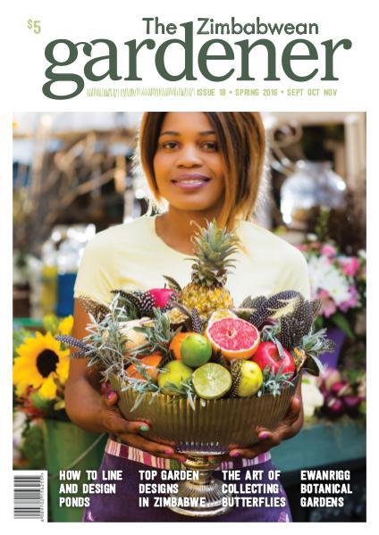The Zimbabwean Gardener Issue 18 Spring 2016