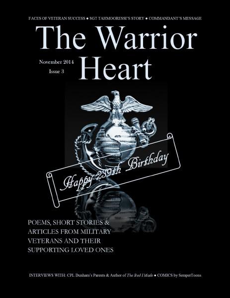 The Warrior Heart November 2014