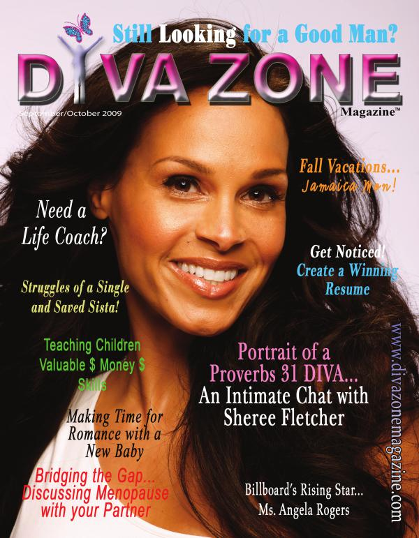 DIVA SWAGGER ISSUE - Sheree Fletcher Cover - Septe