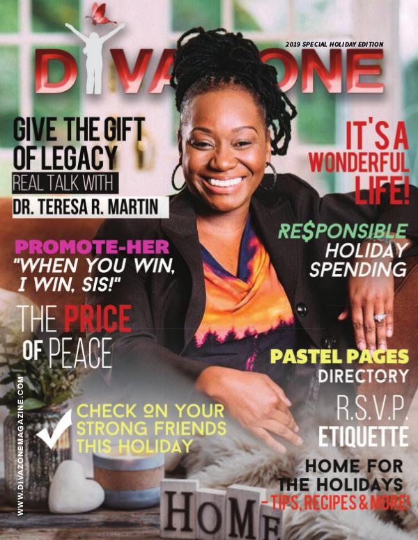 2019 Holiday Issue - The DIVA Zone Magazine