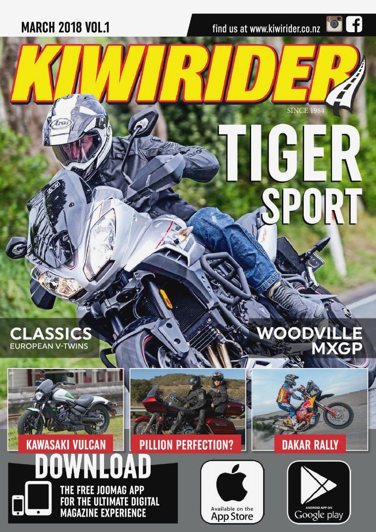 KIWI RIDER MARCH 2018 VOL.1