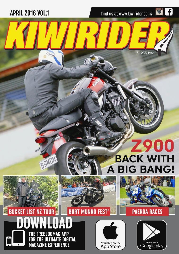 KIWI RIDER APRIL 2018 VOL.1