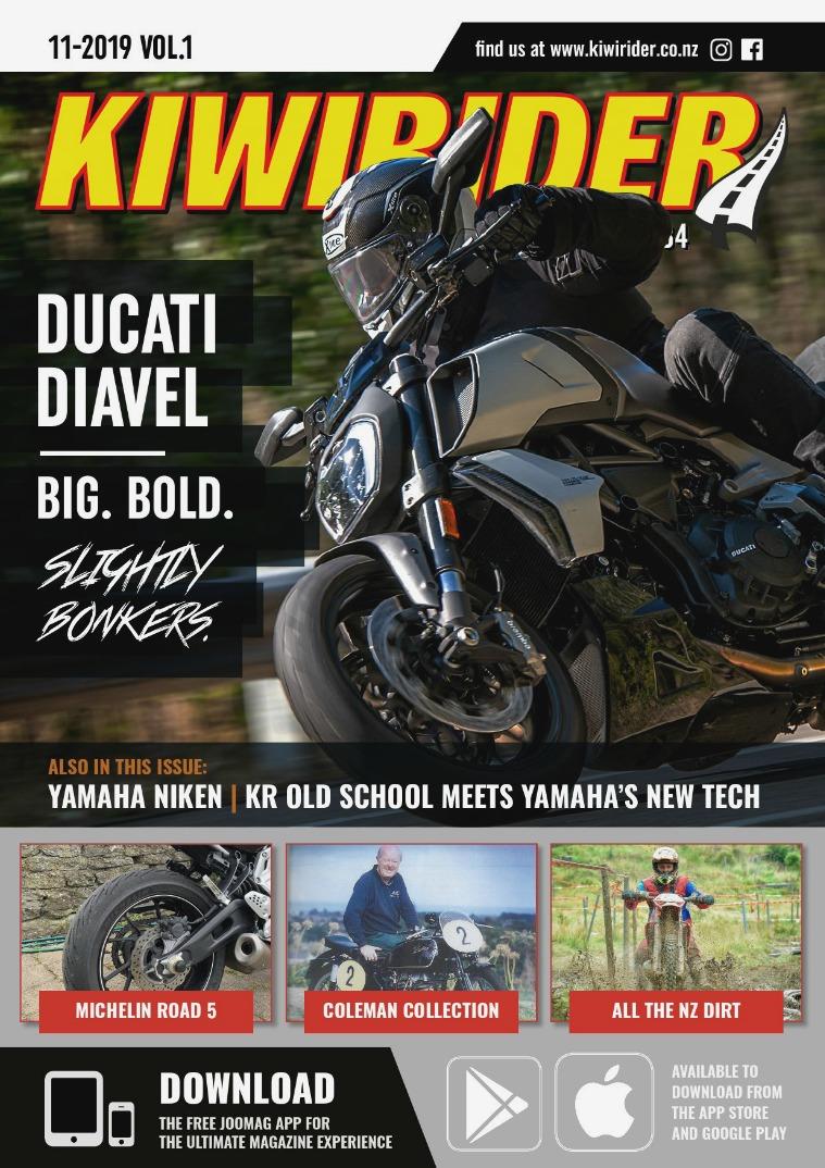 KIWI RIDER 11 2019 VOL1